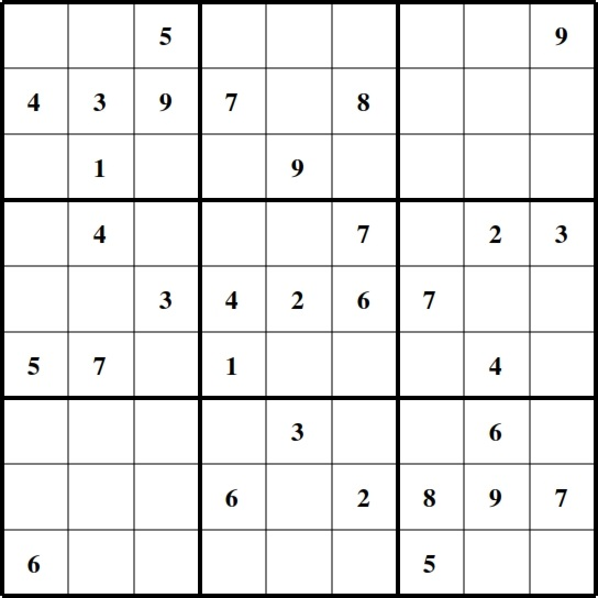 how to solve a sudoku puzzle hard