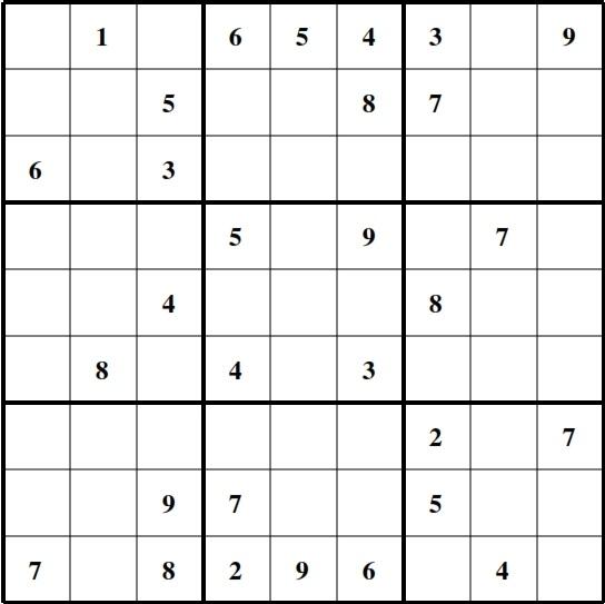 Sudoku Medium Follow Weekly Sudoku P...